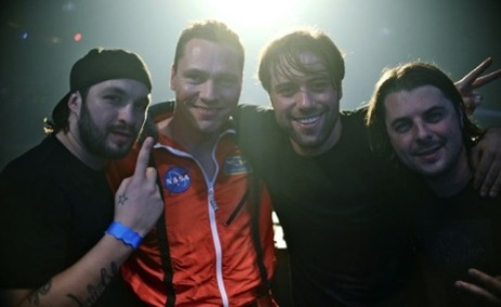 DJ Tiesto with Swedish House Mafia img