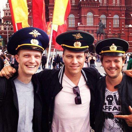 With Dj Tiesto Russian Beauties 54