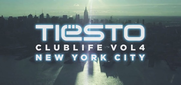 DJ Tiesto - Club Life Vol.4 New York cover