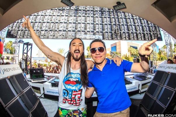 DJ Tiesto & Steve Aoki