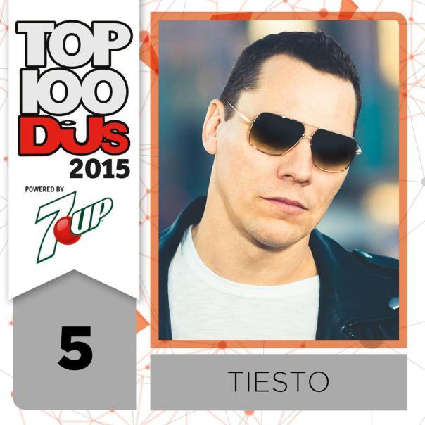 DJ Tiesto DJ Mag Top 100 2015